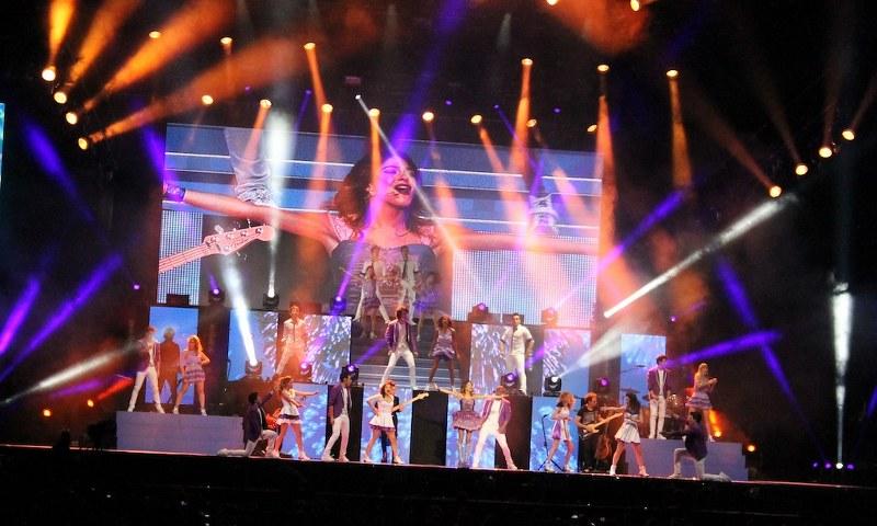concerto di Violetta a Napoli
