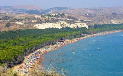 Eraclea minoa village in Sicilia